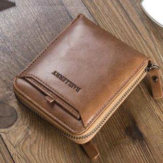 Men Soft Bi-fold Tan Color Wallet With Removable Card Slots