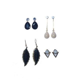 srissubh A3 4 in 1 combo earrings, stylish and casual wear for college going girls and women