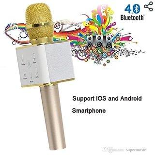 Neil Creation Karaoke Mic Wireless, Portable Handheld Singing Machine Condenser Microphones Mic And Bluetooth Speaker Co