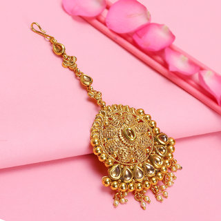 Sukkhi Graceful LCT Gold Plated Maang Tikka For Women