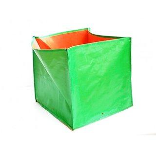 Hdpe Grow Bags 5 Nos Size 12 X 12 X 12 Inch Terrace/Kitchen Garden