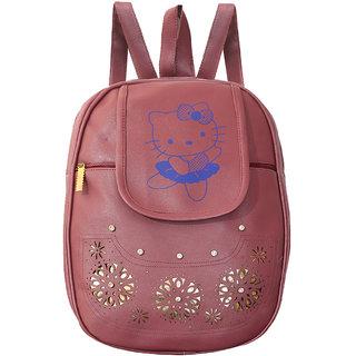 Grey Backpack For Girls 10 L Backpack (Grey)