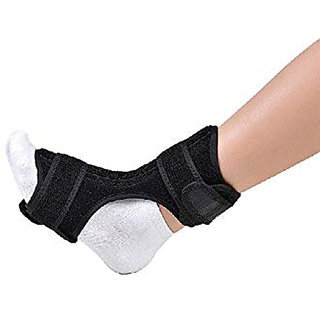 Night Drop Foot Brace Orthotic Stretch Fits Right Left Adjustable