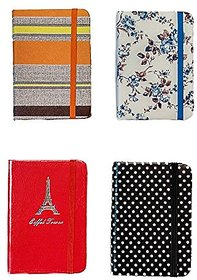 Regal Elegant Series - Ruled Notebook Small 160 Pages (Set Of 4)