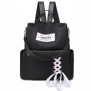 Women Waterproof College Backpack