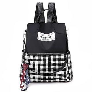 Women Waterproof College Backpack