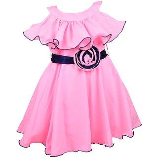 Clobay Fashion Poncho Frock For Girls