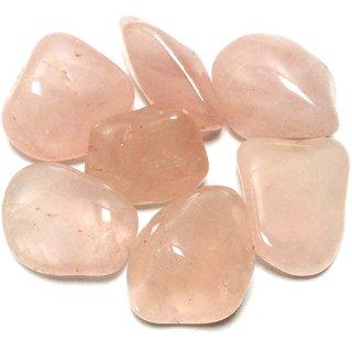 Rose Quartz Crystal 100 Grams Tumble Mix Sizes 5 To 6 Tumble