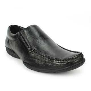 buy avanthier genuine leather black formal shoes with tpr