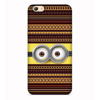 Printvisa Multicolor Ethnic Design Eyes Designer Printed Hard Back Case For Vivo V5 - Multicolor