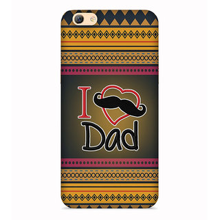 Printvisa Multicolor Ethnic Design Love Father Designer Printed Hard Back Case For Vivo V5 - Multicolor