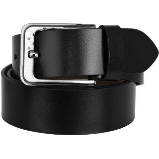 Nitrogen Boys Casual, Formal, Evening, Party Black Artificial Belt Ngb-04-Bk