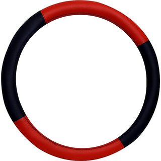 Dealbymn Car Steering Cover For Alto 800 In Red  Black
