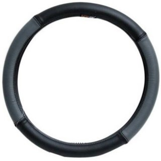 Dealbymn Car Steering Cover For Indica In Silver  Black