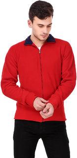 Ketex Men's Red Fleece Warm Jacket