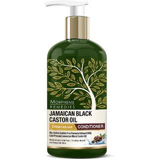 Morpheme Remedies Jamaican Black Castor Oil Strengthen Hair Conditioner - No Sls/Sulphate, Paraben, 300Ml