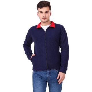 Ketex Men's Navyblue Fleece Warm Jacket
