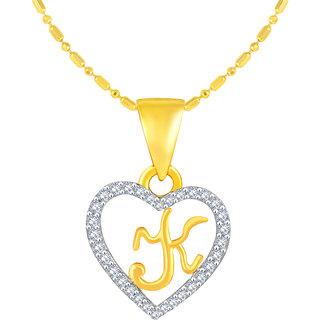Golden Heart Jewels Gold Plated Heart Shape