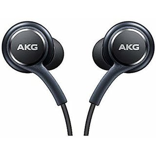 Samsung Akg Wired Earphone Hi-Fi Sound Quality Extraaa Bass Booster And Fabric Cable Wire 3.5Mm Jack With Mic