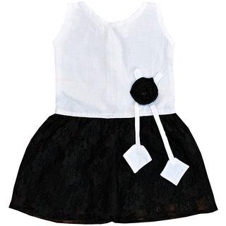 Dakshan Collections Self Design Cotton Frocks Girl Babies