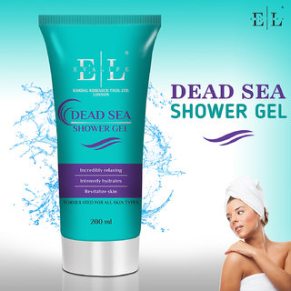 Evalife Dead Sea Absolute Relax Aloe Vera Shower Gel - 200 Ml