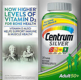 Centrum Silver Adults 50+, 285 Tablets