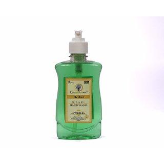 Khadi Natural Herbal Hand Wash (250 ml)-InstantSanitizer