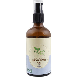 Nature's Tattva Cold Pressed Hemp Seed Oil - 100ml