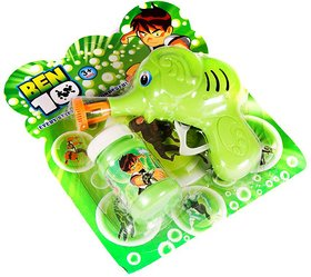 Ben 10 Hand Pressing Bubble Making Toy Gun Toys For Kids. Tb1