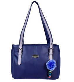 Handbags For Womens For Office Casual Purse (Blue)