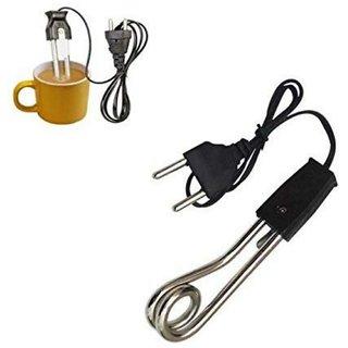 Mini immersion rod 250 Watt by Zeeko - Steel for coffee/water/milk