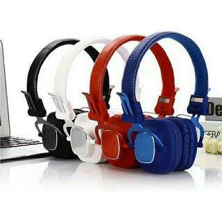 Vinimox Woos04 Bluetooth Headset With Mic Over Ear Wireless With Mic Headphones/Earphones
