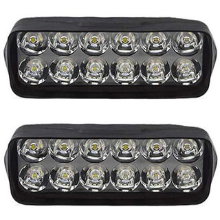 Eshopglee 2020 Bike / Motorcycle 12 Led Headlight Driving Fog Spot Light 2 Pcs