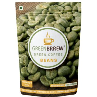 Greenbrrew Organic Green Coffee Beans For Weight Loss - 200G