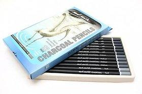 Mont Marte Charcoal Pencils Set Of 12Pcs