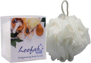 G-PET Bath Sponge Loofah White