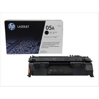 Hp 05 Black Toner Cartridge Ce505A With Gst Bill And Hp Guarantee