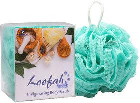 G-PET Bath Sponge Loofah Teal