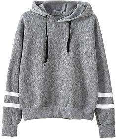 Raabta Grey With White Strip Sweat Shirt
