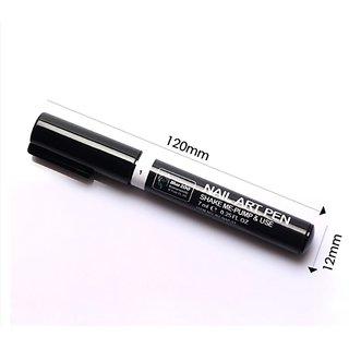 Nail Art Pen 3D, White Color, 1 Pen