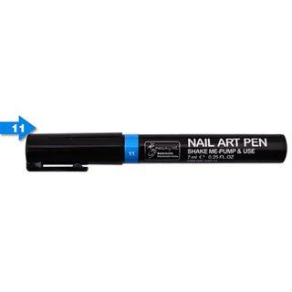 Nail Art Pen 3D, Sky Blue Color, 1 Pen