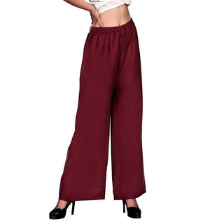 Women relaxed free size palazzo pant (only on 149)