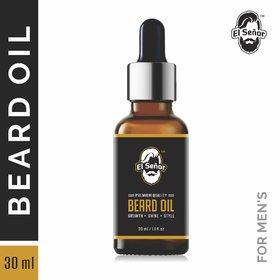 El Senor 100  Natural Beard Oil for Beard Growth