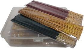 De-Ultimate 1 KG Jar/Box Of Multicolor Happy Night Mosquito Repellent Incense Stick Agarbattis For Worship, Meditations