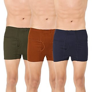 Men's Trunk 'H' Underwear For Men - Pack Of 3