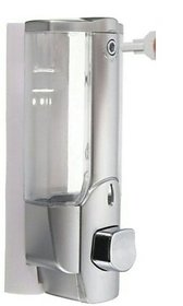 SKS - Clean Home Dispenser with Key 500 ml Gel, Lotion, Soap, Conditioner, Shampoo Dispenser (Steel)