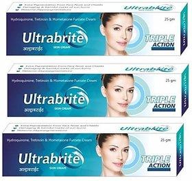 Ultrabrite Triple Action Skin Cream (set of 3 pcs.)