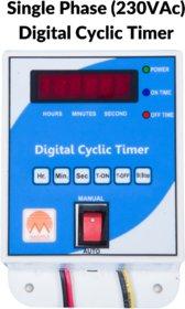 Digital Cyclic Timer/Hydroponic Timer