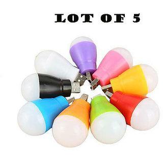 Mini Usb Bulb Led Light Pack Of 5
