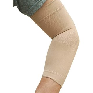Liboni Skin Elbow Support For Joint Pain Relief Women And Men For Ligament Injuries Elbow Support. (2 Piece)